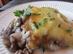 Lisa's Dinnertime Dish: Shepherds Pie, Comfort Food at its Best