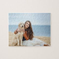 Custom Photo Jigsaw Puzzle | Zazzle.com Personalised Jigsaw Puzzle, Custom Jigsaw Puzzles, Photo Jigsaw Puzzle, Map Puzzle, Picture Puzzles, Create Your Own Puzzle, Christmas Card Holders, Custom Photo, Gifts For Kids