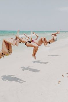 Flipping out with the girls