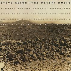 The cover for Desert Music, the 1983 album from Steve Reich.