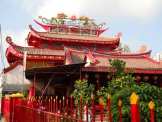 Liong Hok Bio Chinese Temple, Magelang City, Central Java, Indonesia