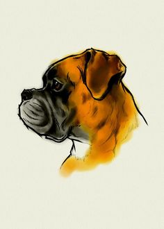 Everything About The Patient Boxer Puppies Size Boxer Dog Tattoo, Dog Tattoos, Boxer Puppies, Funny Puppies, Funny Dogs, Boxer Love, Dog Paintings, Art Plastique, Dog Art