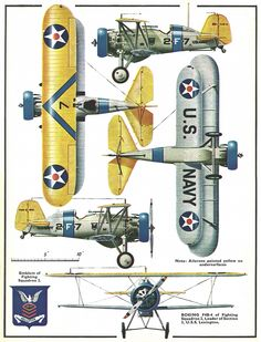Boeing F4B4 pre-WW2