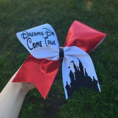 disney cheer bow by BowSugar on Etsy