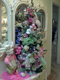 Penny's Vintage Home: Romantic Easter Tree