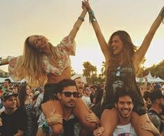 Go crazy when you're with your best friends.