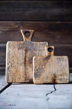 Vintage style chopping boards