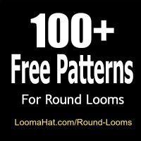 Round Loom - 100 FREE Patterns