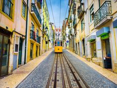 Libson Vacation with Airfare from Azores Express - Lisbon, Portugal: ✈ Lisbon Vacation with Round-Trip Airfare from Azores Airlines. Price/Person Based on Double Occupancy. Bergen, Best European City Breaks, Best Cities In Europe, Uk Europe, Belle Villa, Destination Voyage, Round Trip, Old City, Capital City