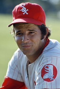 Bill Melton of the Chicago White Sox poses for this portrait during a Major League Baseball spring training baseball game circa 1973 in Sarasota. White Sox Baseball, Baseball Star, Baseball Socks, Baseball Players, Baseball Cards, Mlb Uniforms, Baseball Uniforms, Minor League Baseball, Major League