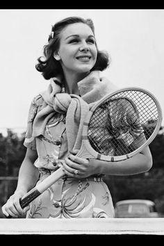 1950s Tennis fashion