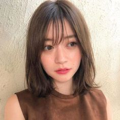 hairstyles over 50 thin hairstyles 2018 long thin hairstyles 60 thin hairstyles thin hairstyles with bangs face thin hairstyles thin hairstyles thin hairstyles Long Hair V Cut, Short Thin Hair, Short Hair Cuts, Korean Hairstyle Medium Bangs, Korean Bangs, Medium Hair Cuts, Medium Hair Styles, Curly Hair Styles, Medium Curly