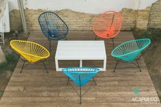 Silla Acapulco original #silla #acapulco #jardin #terraza