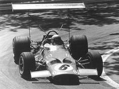1969 Spainsh  GP Bruce McLaren