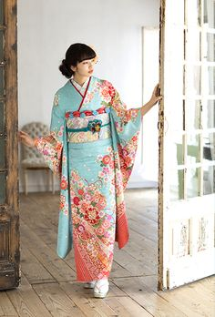 Silk Kimono. Made in kyoto. This is Kyo-yuzen. #japan #kimono