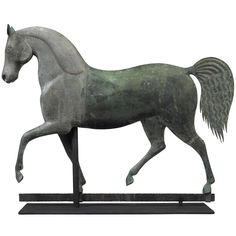 Index Horse Weathervane  19th century  Attributed to J. Howard and Company,  Bridgewater, Massachusetts, ca. 1860-1870.