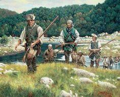 Frontier riflemen
