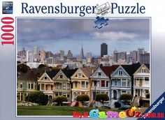 Ravensburger+Jigsaw+Puzzle+Painted+Ladies+San+Francisco Pieces:+1000 Manufacturer+:+Ravensburger Measures+70cm+x+50cm Over+100+Years+of+tradition.Ravensburger+have+been+making+puzzles+in+Ravensburg,+Germany+since+1891.+Their+wealth+of+experience+and+unsurpassed+attention+to+detail+makes+Ravensburger+the+world's+most+popular+puzzle+brand.