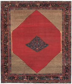 KARAJA - Northwest Persian 9ft 7in x 11ft 4in Late 19th Century http://www.claremontrug.com/antique-rugs-information/collecting/