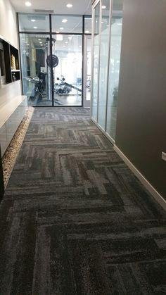 Silver Tower Condo Corridor Interface carpet tile style CT112