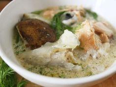 Salmon Head Soup (seriously delicious!)