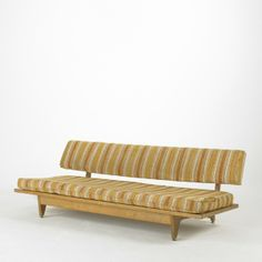 Richard Stein; Birch Daybed for Knoll Associates, c1950.
