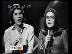 Erev shel shoshanim - Mike Brant & Nana Mouskouri - YouTube