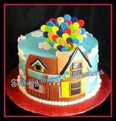 Disneys Up Birthday Cake