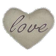 Love Heart Filled Cushion