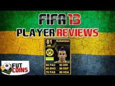 Fifa 13 SIF Aubameyang 81 RM Review and Stats