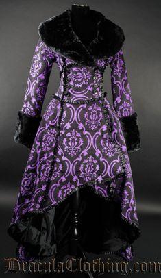 Purple Evil Queen Coat