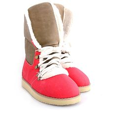 GHETUTE INALTE RED  119,0 LEI Ugg Boots, Uggs, Red, Shoes, Fashion, Moda, Zapatos, Shoes Outlet, Fashion Styles