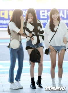 Fashion Idol, Pop Fashion, Womens Fashion, Female Fashion, Kpop Girl Groups, Kpop Girls, Yu Jin, Baby Ducks, Airport Style