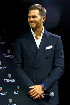 NFL football player Tom Brady is the new brand ambassador for TAG Heuer! www.wmfeed.me