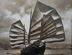 Rauno  Joks - Chinese Junk waves its sails