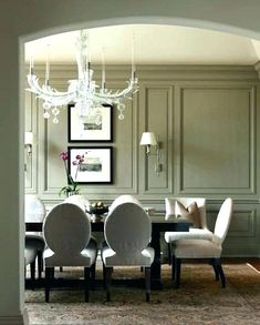 A dining room decor to make your guests feel envy! Grab the best dining room decor ideas to make your dining room design be the best when it comes to modern dining rooms designs. A best of when it comes to interior design ideas. Dining Room Walls, Dining Room Lighting, Dining Room Design, Dining Room Paneling, Room Chairs, Living Room, Dining Room Mirrors, Office Chairs, Luxury Dining Room