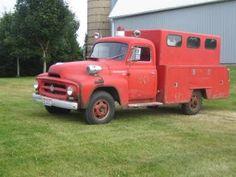 1954 International R130 Fire Truck Utility Type.