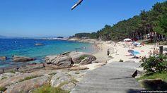 Praia das Pipas em O Grove na Galiza