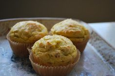 Savory Coconut Flour Muffins. Good for dinner.