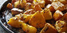 Boodschappen - Geroosterde pompoen met sesam en sinaasappel