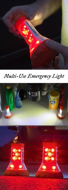 This set of LED emergency lights, lets you keep one in the car or boat and another in the workshop—and you'll never be left in the dark. The multifunctional safety lights have ultra-bright bulbs that shine in any (or every) direction. Different settings let you use them as a flashlight, lantern, or flashing roadside flare.