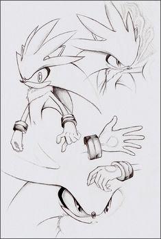 Practice - Silver the Hedgehog by goldhedgehog on DeviantArt