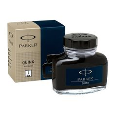 Parker Quink Ink Bottle (57ml)  - Permanent Blue/Black