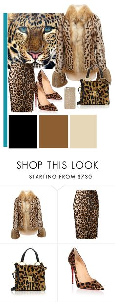 """""""leopard"""" by clarerizzo on Polyvore featuring Bogner, Altuzarra, Miu Miu, Christian Louboutin and Michael Kors"""