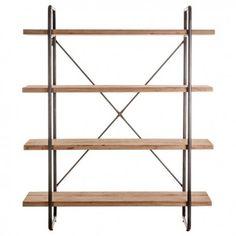 estantería industrial Wood   Tiendas On
