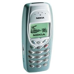 One of our first phones- Nokia 3410