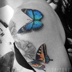 """71 aprecieri, 3 comentarii - Taizane ☆Tai☆ (@taiamorearte) pe Instagram: """"""""O segredo é não correr atrás das borboletas… É cuidar do jardim para que elas venham até você. No…"""""""