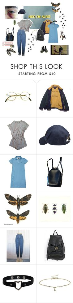 """""""YOU ARE ALIVE"""" by skins-uk ❤ liked on Polyvore featuring American Apparel, Scotch Shrunk, Tommy Hilfiger, Louis Vuitton, Converse, Versace, Miss Selfridge and Tokyo Rose"""