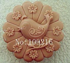 Creativemoldstore 1pcs Love Bird (zx999) Craft Art Silicone Soap Mold Craft Molds DIY Handmade Soap Mould >>> You can get additional details at the image link.