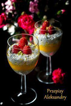 Mango, Chia Pudding, Cupcake Cakes, Cupcakes, Smoothies, Panna Cotta, Vegetarian, Tableware, Ethnic Recipes